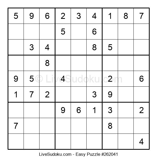 Beginners Puzzle #262041