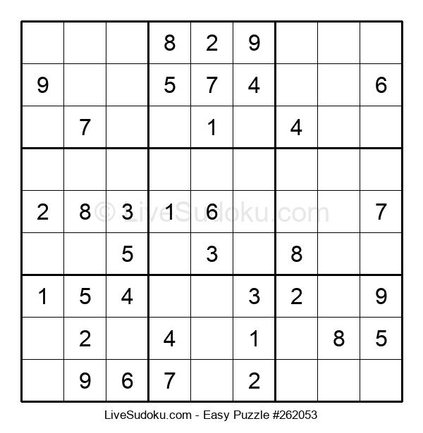 Beginners Puzzle #262053