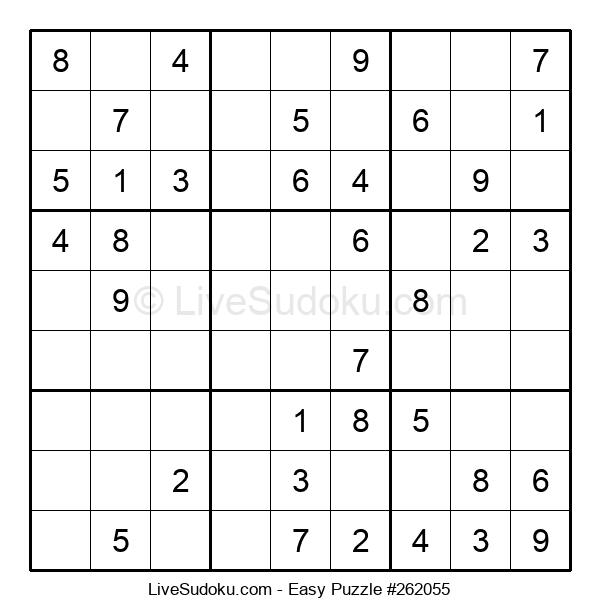 Beginners Puzzle #262055