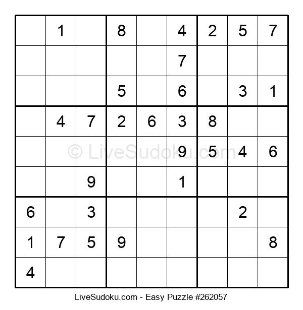 Beginners Puzzle #262057