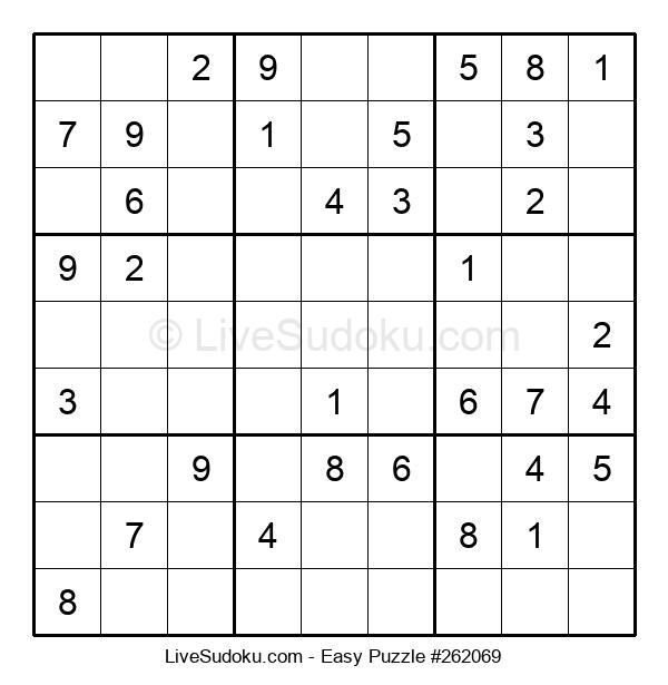 Beginners Puzzle #262069