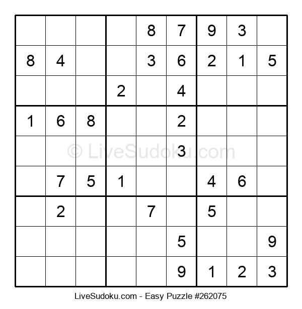 Beginners Puzzle #262075