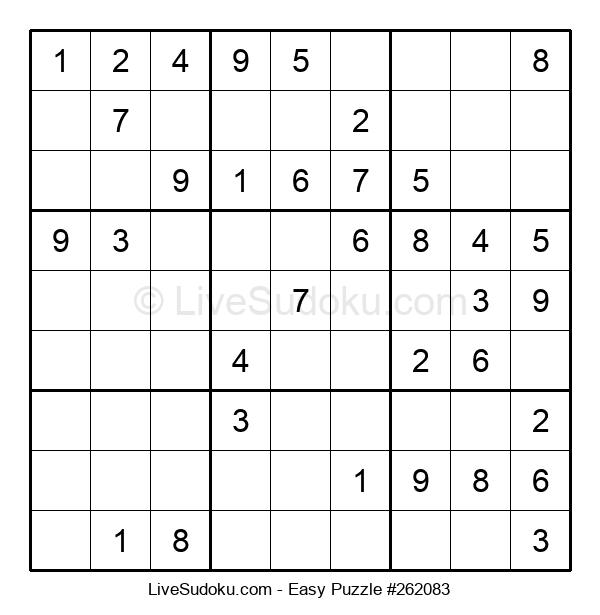 Beginners Puzzle #262083
