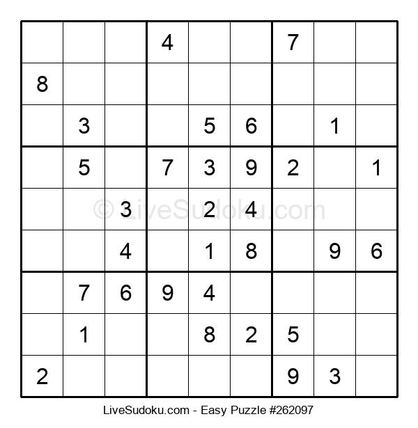 Beginners Puzzle #262097