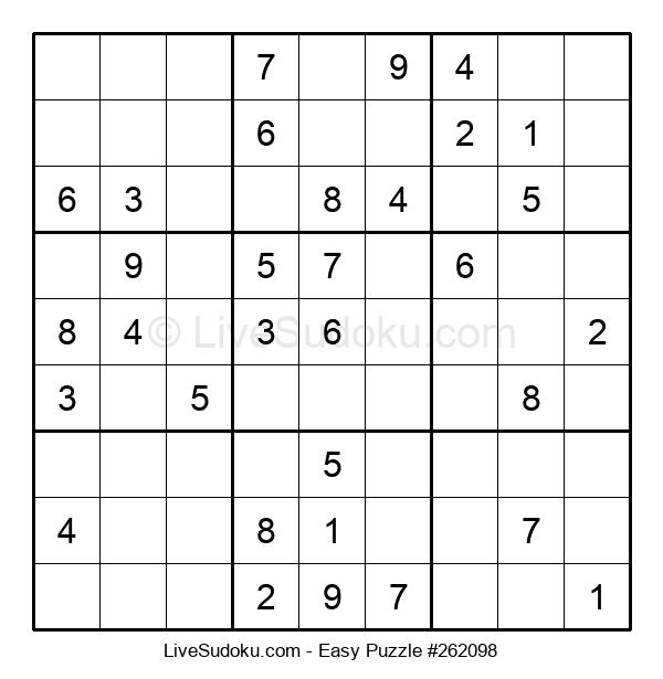 Beginners Puzzle #262098