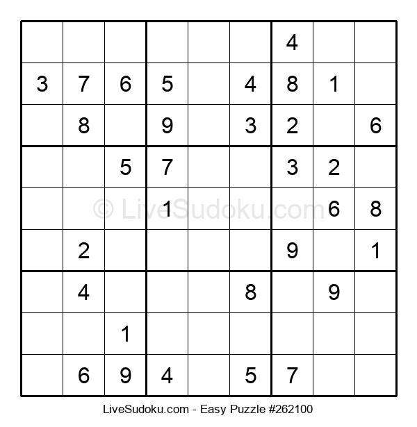 Beginners Puzzle #262100