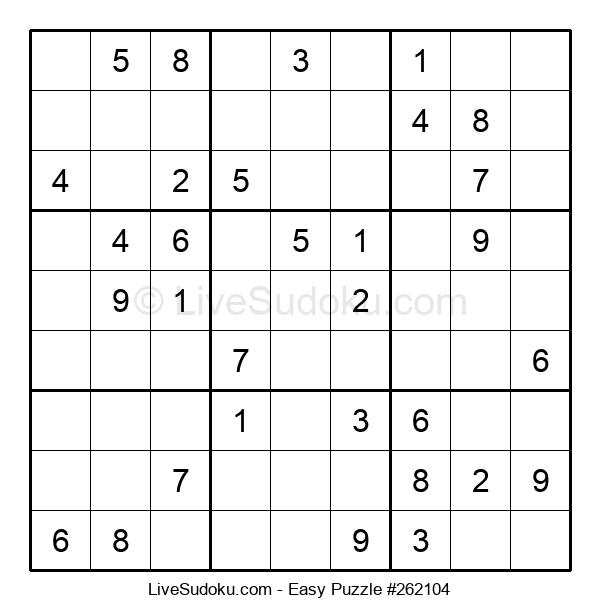 Beginners Puzzle #262104