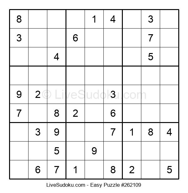 Beginners Puzzle #262109