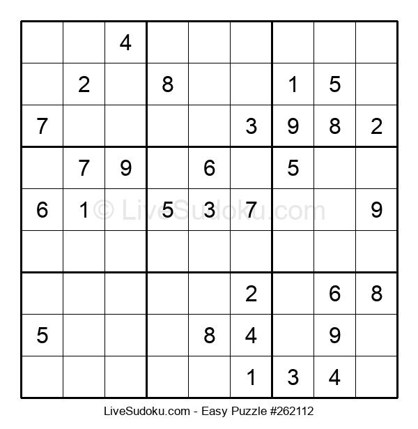 Beginners Puzzle #262112