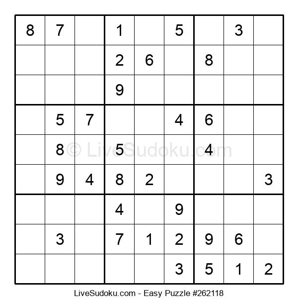 Beginners Puzzle #262118