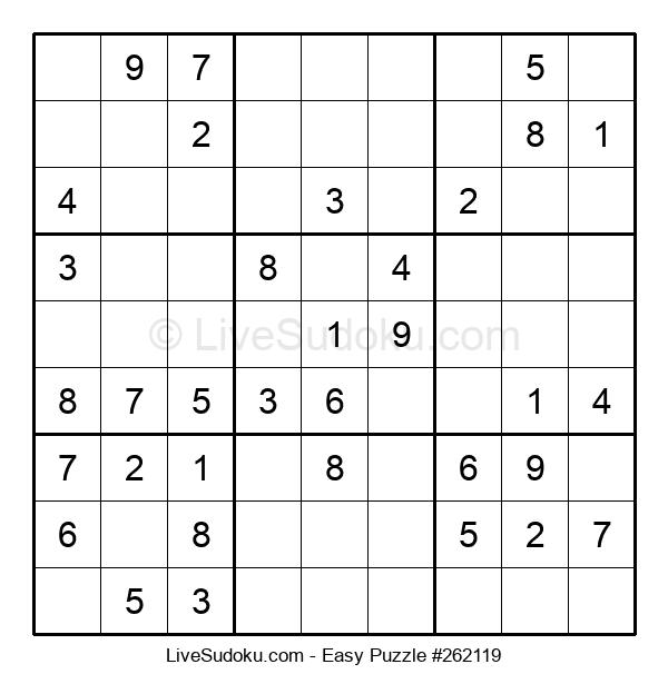 Beginners Puzzle #262119