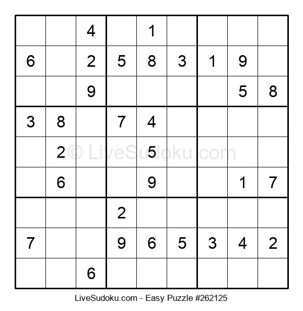 Beginners Puzzle #262125