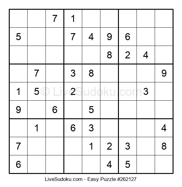 Beginners Puzzle #262127