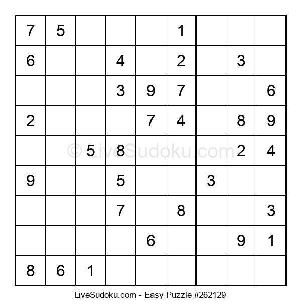 Beginners Puzzle #262129