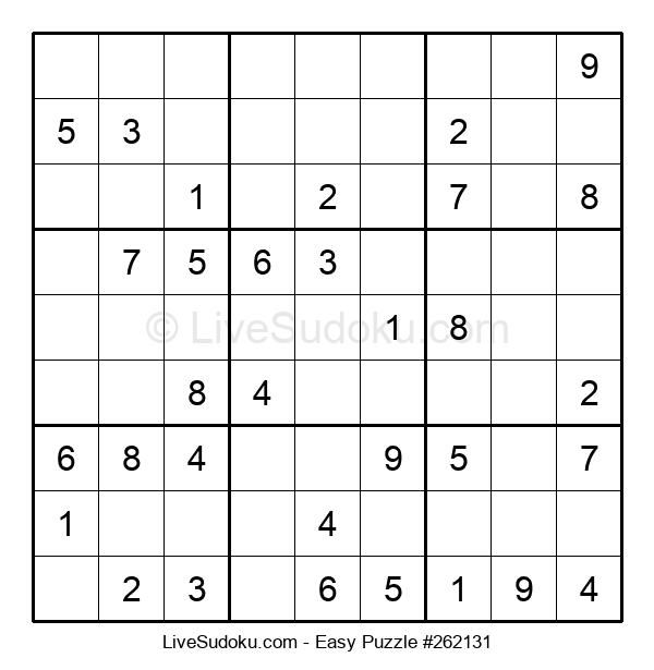 Beginners Puzzle #262131