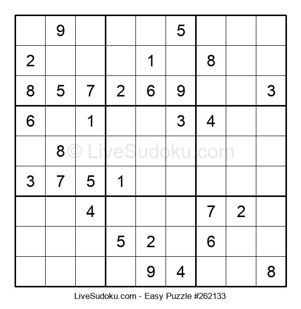 Beginners Puzzle #262133