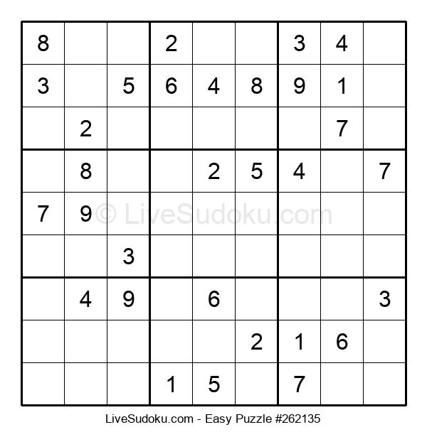 Beginners Puzzle #262135