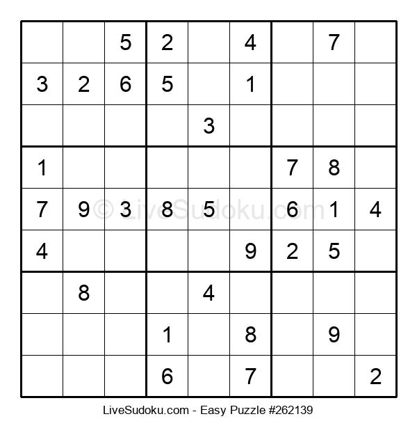 Beginners Puzzle #262139