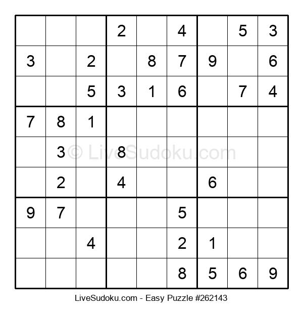 Beginners Puzzle #262143