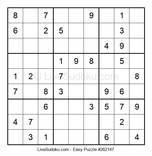 Beginners Puzzle #262147