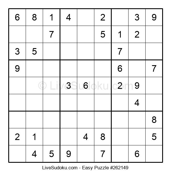 Beginners Puzzle #262149