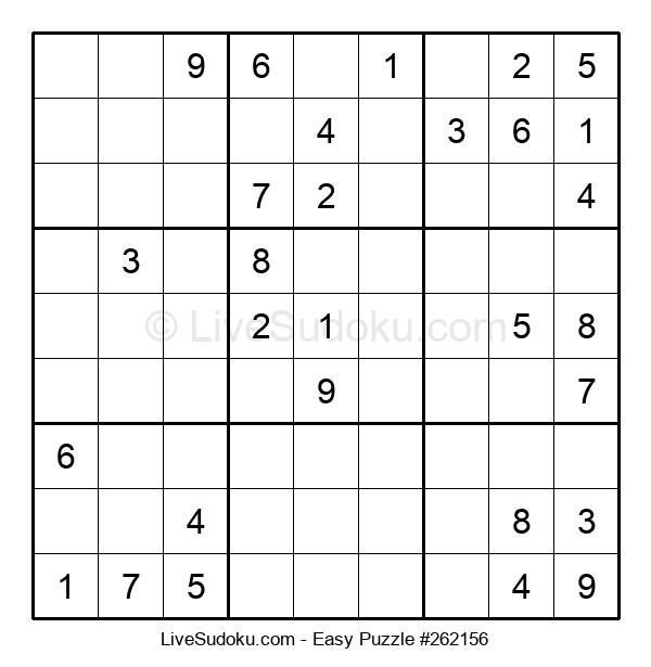Beginners Puzzle #262156