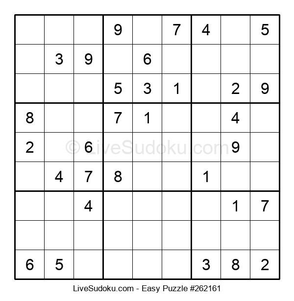 Beginners Puzzle #262161