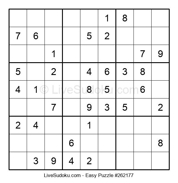 Beginners Puzzle #262177