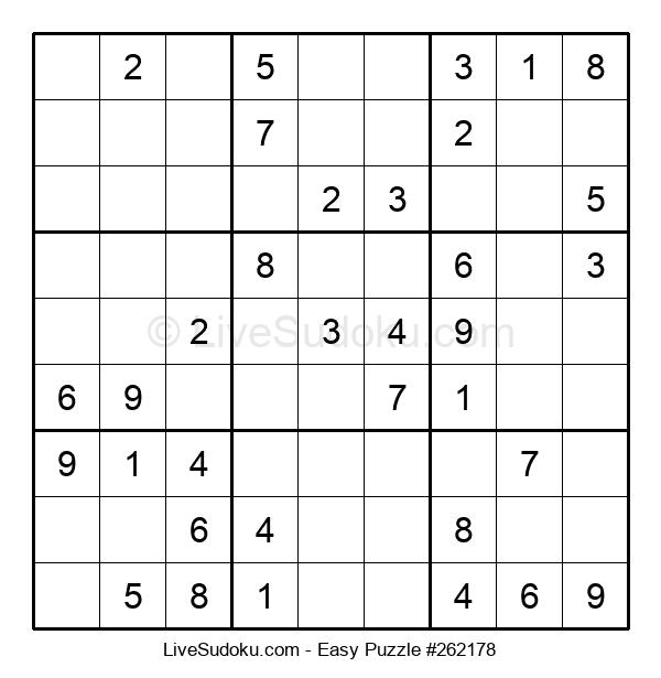 Beginners Puzzle #262178