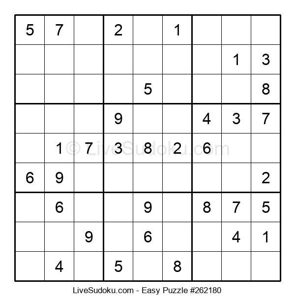 Beginners Puzzle #262180