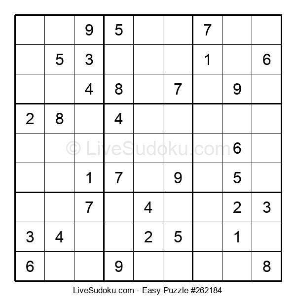 Beginners Puzzle #262184