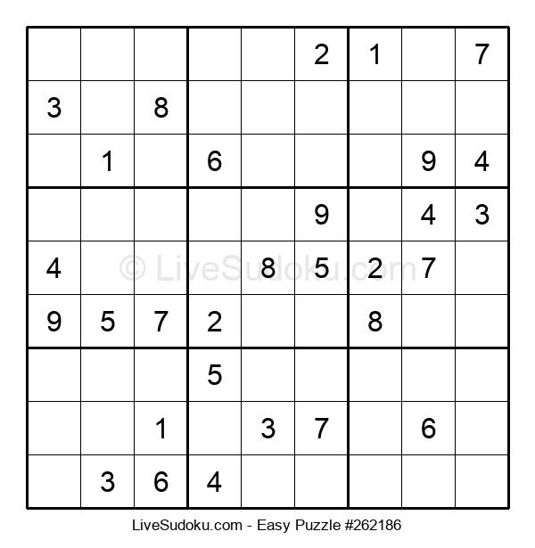 Beginners Puzzle #262186