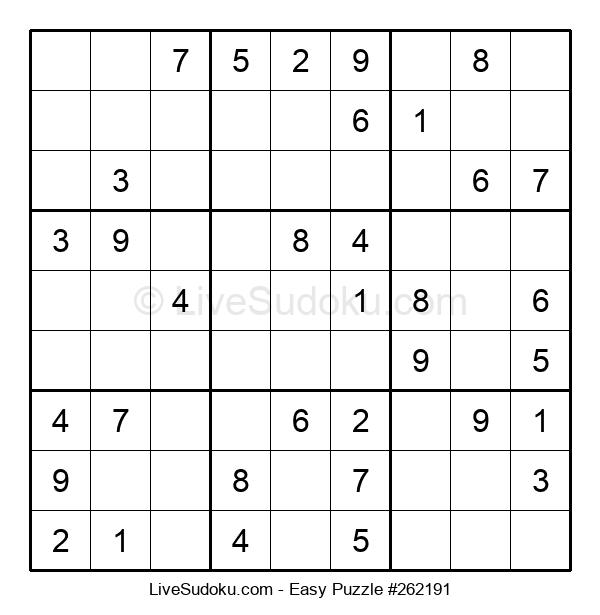 Beginners Puzzle #262191
