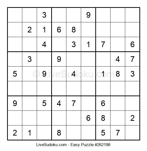 Beginners Puzzle #262198