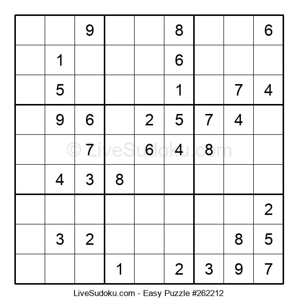Beginners Puzzle #262212