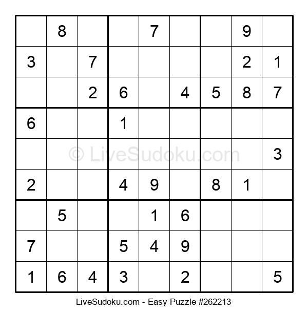 Beginners Puzzle #262213