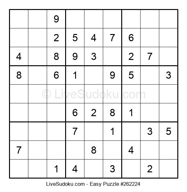 Beginners Puzzle #262224