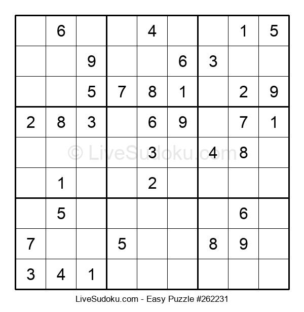Beginners Puzzle #262231