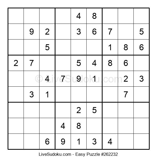 Beginners Puzzle #262232