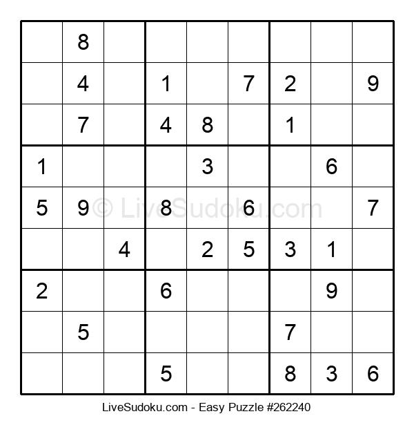 Beginners Puzzle #262240