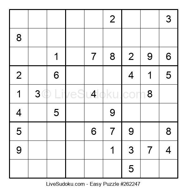Beginners Puzzle #262247