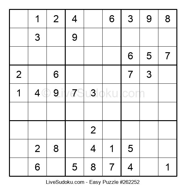 Beginners Puzzle #262252