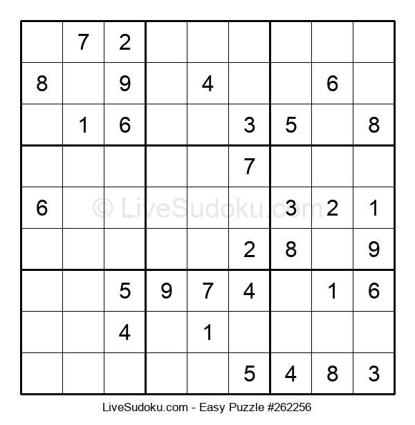 Beginners Puzzle #262256