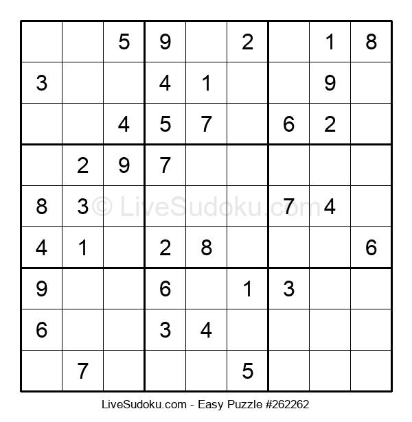 Beginners Puzzle #262262