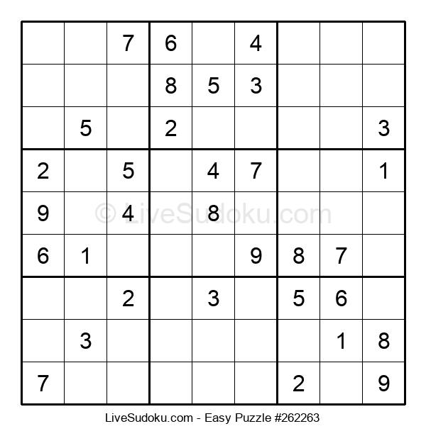 Beginners Puzzle #262263