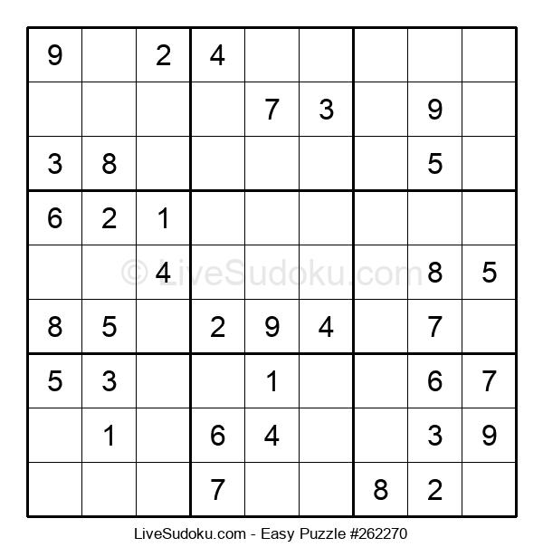 Beginners Puzzle #262270