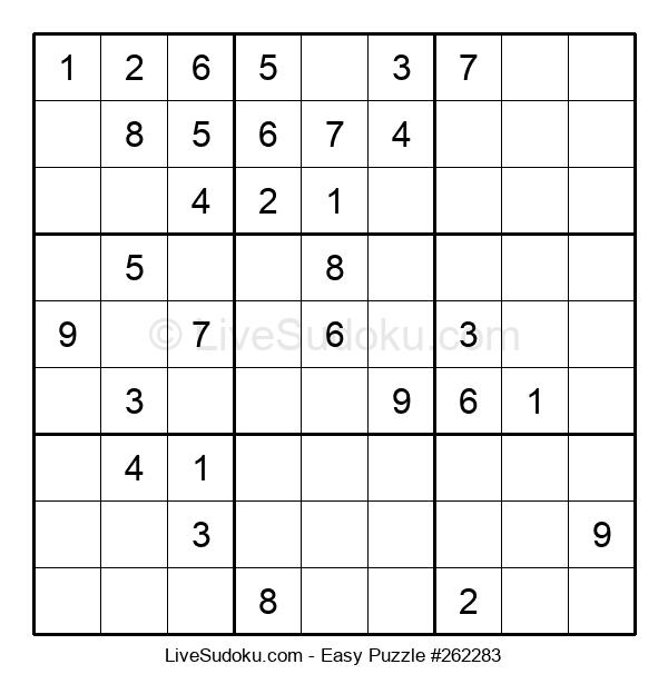 Beginners Puzzle #262283