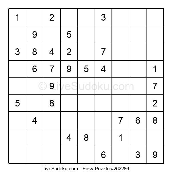 Beginners Puzzle #262286