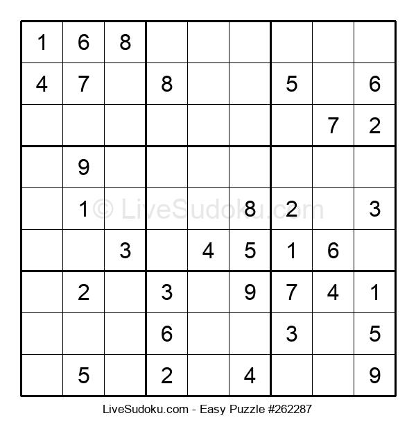 Beginners Puzzle #262287