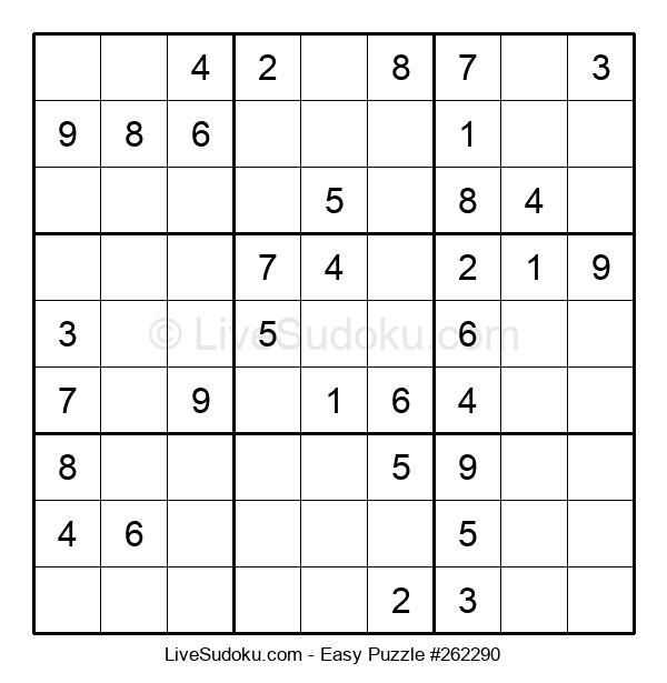 Beginners Puzzle #262290